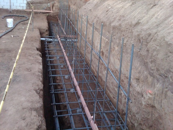 Retaining Wall Footing Rebar Reinforcement Reinforcement Contractor Los  Angeles   Residential Retaining Walls Gallery   Prieto Engineering