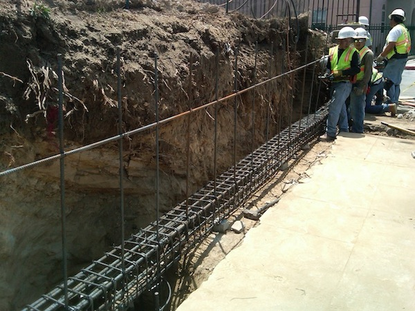 Residential Concrete Retaining Wall Prieto Engineering